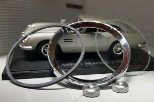 "Aston Martin DB6 DBS Jaeger Smiths Gauge Reconditioning Kit Glass Seal Bezel 2"""