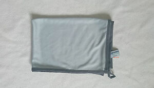 proWIN Kristall 50 cm x 70 cm - grau - NEU Gläsertuch -Poliertuch-