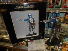 Star Wars 2003 Attakus Jango Fett Bounty Hunter Statue ~ #1252/1500