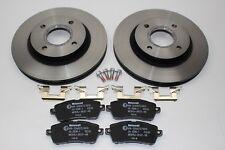Original Bremsscheiben + Bremsbeläge vorne Ford Fiesta 1679853 + 1848518