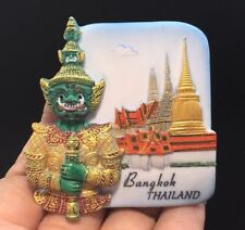 Asia Giant BANGKOK Thailand 3D Fridge Magnet Resin Souvenir Tourist Sculpture