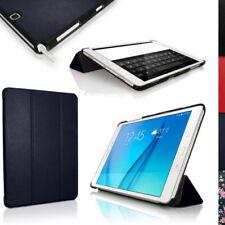 Carcasas, cubiertas y fundas azul Galaxy Tab A de piel sintética para tablets e eBooks