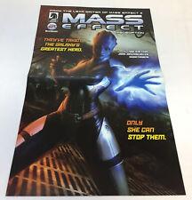 2009 Dark Horse promo poster ~ MASS EFFECT REDEMPTION