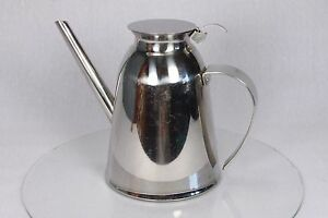 Vintage Stainless Steel Retro Style Coffee Hot Chocolate Tea Expresso Pot Jug