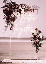 Rose Gold Copper Wedding Frame