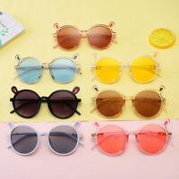 Sunglasses Boys Girls Goggles Kids Children Toddler Outdoor Heart Eyeglasses