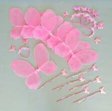 Heart To Wings & Wand 6 Set Costume PINK PARTY Toys Games