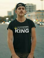 Quarantined Birthday King T Shirt Gift 2020 Quarantine and Chill Fathers Day