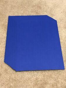 "Neenah Cardstock Paper Lot Blast Off Blue Navy 8.5 x 11"" 24 Sheets 65 lb"