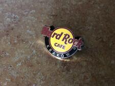 Hard Rock Cafe Classic Logo Pin Krakow
