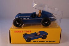 DINKY TOYS  AUTO IN METALLO MERCEDES BENZ RACING CAR BLU  ART 23 C