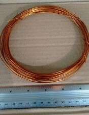 AWG 17ga(1.0mm) Magnetic Wire Enameled Copper Winding Coil 50ft+  Length