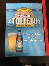 3644d25780b54 Sierra Nevada Beer Tropical Torpedo IPA Poster