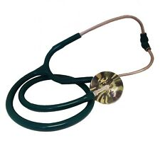 Green Stethoscope With Green Camouflage Chest Piece