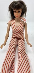 Vintage 1968 Barbie 1962 Midge Brown Hair Doll with Clothes