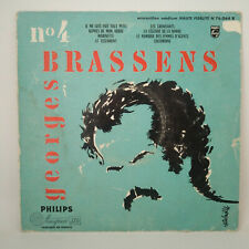 """Georges Brassens – Je Me Suis Fait Tout Petit - Vinyl LP 10"""" - 25 CM - 1956 N°4"""