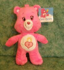 "Care Bear Stuffed Plush Doll~Secret Bear~Heart Padlock Belly~New W/Tags~9""~2015"