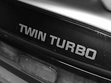"NIssan 300ZX Fairlady ""TWIN TURBO""Rear hatch decal, Sticker, Jdm Various Colours"