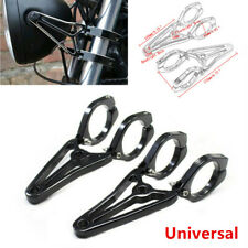Universal 41MM Motorcycle Fork Clamp Headlight Turn Signal Mount Holder Bracket