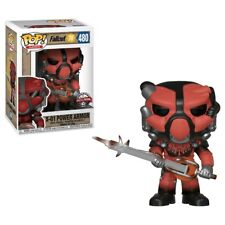 Fallout 76 - X-01 Power Armor (Red) US Exclusive Pop! Vinyl-FUN39036
