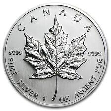 2005 Canada 1 oz Silver Maple Leaf BU - SKU #11163