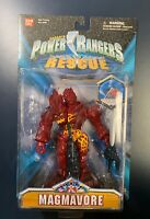 MMPR Magmavore Figure Saban's  Power Rangers Light Speed Rescue Bandai NIB HTF
