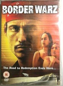 Border Warz DVD 2004 Drugs Cartels Smuggler Crime Thriller Film Movie
