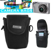 Camera Case Bag Pouch Compact Nylon Soft Universal Shockproof Protection