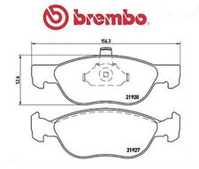 P23081 Kit pastiglie freno, Freno a disco (MARCA-BREMBO)