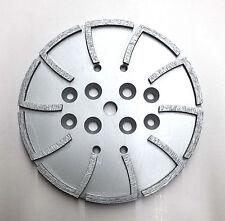 "10"" Pro Concrete Grinding Head Disc Plate for Edco Floor Grinder-20 Segs PREMIUM"