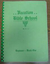1940 Assemblies of God Vacation Bible School - Beginner Book 1 - Pentecostal