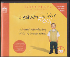 Todd Burpo HEAVEN is for REAL Boy's Story of His Trip to Heaven 4 Audio CD's