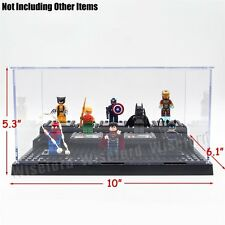 3 Levels Show Room Case Acrylic Display Box for LEGO Blocks Action Figures Toys