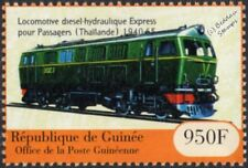 Thailand Railways HENSCHEL Class 3000 Diesel-Hydraulic Train Locomotive Stamp #2