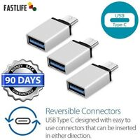 USB-C 3.1 Type C Male to USB 3.0 Female OTG Data Sync Adapter for Macbook