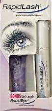 Rapidlash Eyelash  Serum  BONUS RapidEye  (3ml),0.1 oz  ~New ~SEALED ~