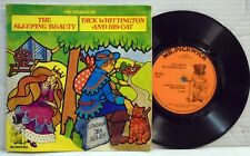 "Sleeping Beauty - Dick Whittington - 45 RPM 7"" vinyl EP record MP 9010"