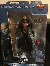 """DC Multiverse ~ 6"""" MARTIAN MANHUNTER (SERIES 8) ACTION FIGURE ~ Mattel (A)"""