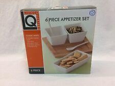 Living Quarters 6 PIECE APPETIZER SET New In Box