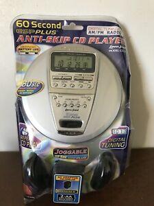 Lenoxx Sound CD-91 AM/FM Digital Radio Portable CD Player - NEW IN BOX