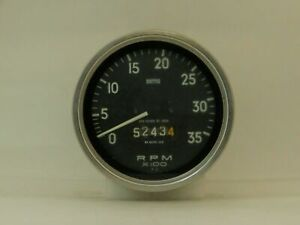 Tachometer Smiths Brand Fits Mack Truck 1966  RN8225/00