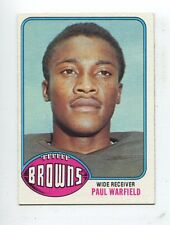 1976 Topps #317 Paul Warfield Cleveland Browns