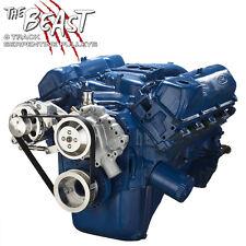 Ford 351C Serpentine Pulley Conversion Kit Alternator Only Cleveland Set System
