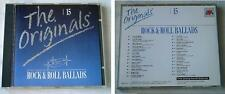 THE ORIGINALS (Volume 15) Rock & Roll Ballads Cliff, Ventures,... NL EVA CD TOP