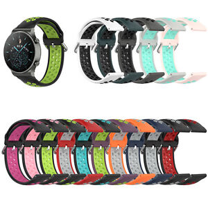 For Huawei Watch GT2 Pro/ Watch GT 2e Soft Watch Strap Wristband Connection 22MM
