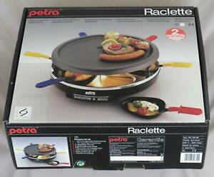 Raclette and Grill, Electric, Petra, 6 people, made in Germany