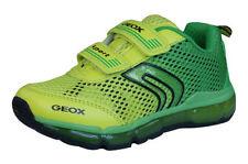 Scarpe sneakers verde sintetico per bambini dai 2 ai 16 anni