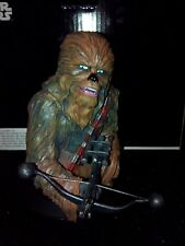 Figurine statue Résine Star Wars Chewbacca Chewie buste custom Fanart