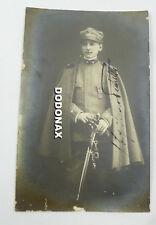 FOTO MILITARE soldato DIVISA UNIFORME 1910 < WW1 ROMA MINISTERO MUNIZIONI GUERRA