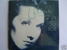 CELINE DION IT'S ALL COMING BACK TO ME NOW CD SINGLE card sleeve